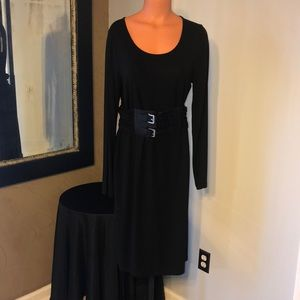 NWT Michael Kors black long sleeve dress